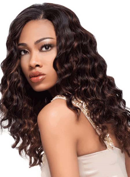 Custom Hand Tied Curly 100% Human Hair Full Lace Wig 18 Inches