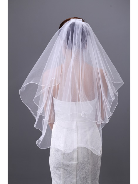 Elegant Tidebuy Elbow Two Layers Wedding Brail Veil