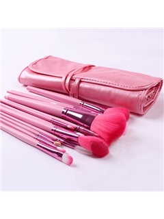 18 Pcs Nylon Fiber Make Up Brush Set  3