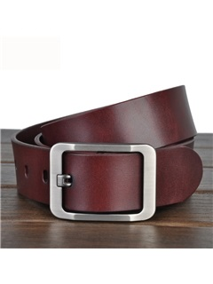 Pin Metal Buckle Belt