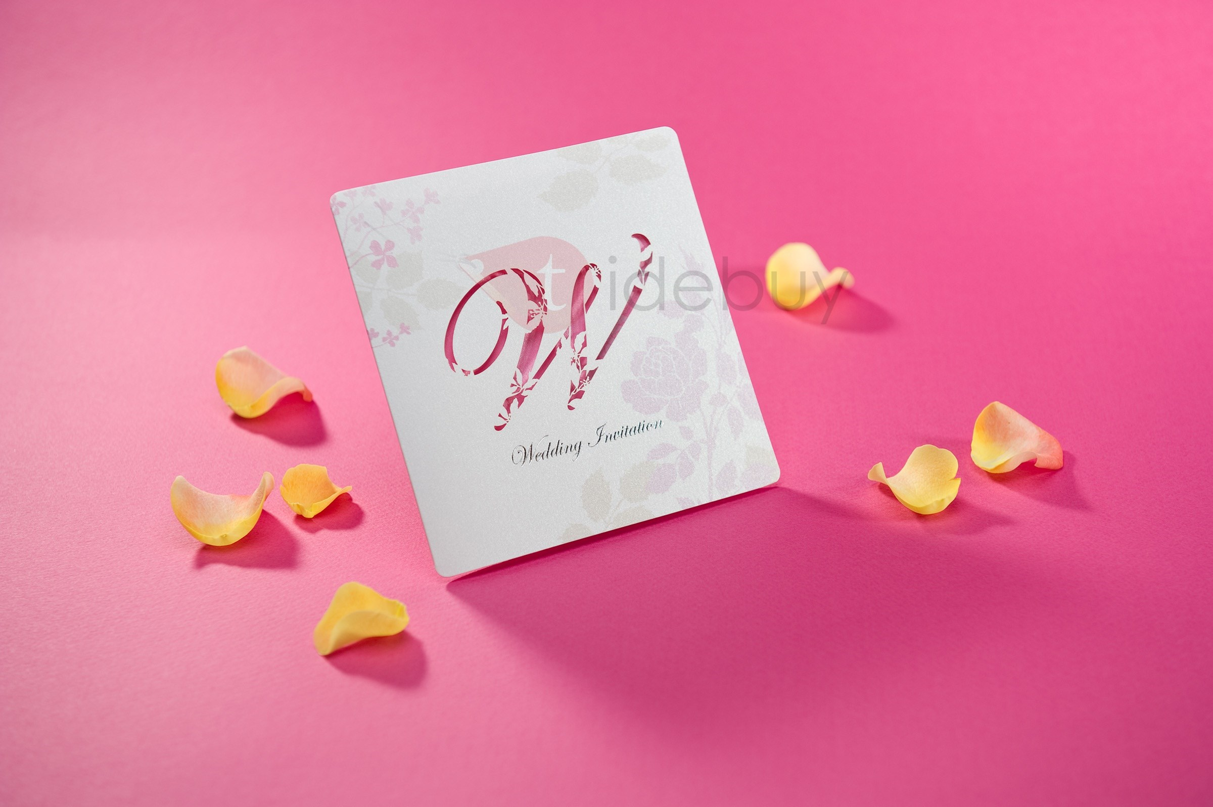Flat Card Invitation Cards (20 Pieces One Set)