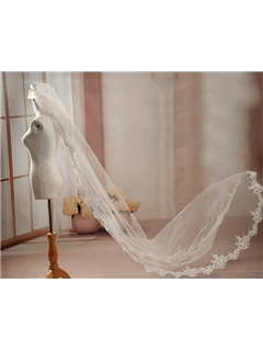 Dazzling Long Wedding Veil