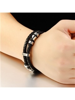 Patchwork Solid Color Bracelet