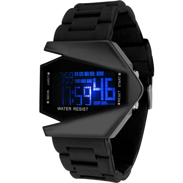 LED Multifunctional Digital Sports Mens Watches