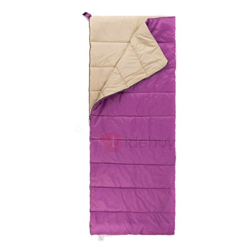 Adult Envelope Hiking Sleeping Bag with Carrying Case