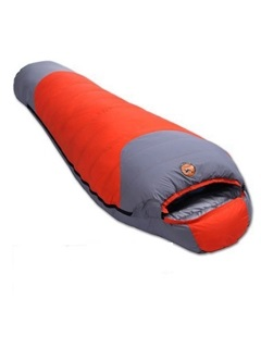 Color Block Cool Weather Mummy Sleeping Bag