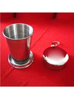 Stainless Steel Collapsible Outdoor Cup