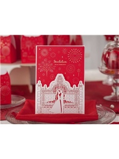 Marry Me Shabby Chic Wedding Invitation Cards (20 Pieces One Set)