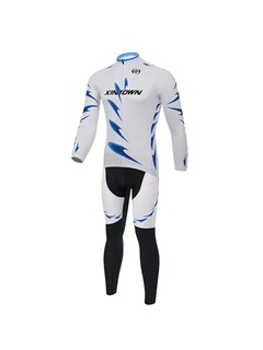 Athletic-Fit Long-Sleeve Cycling Jersey And Pant