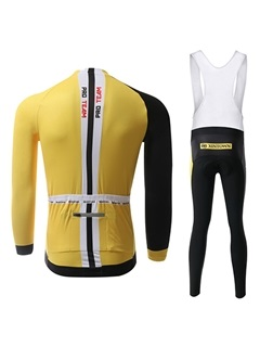 Full-Length Zipper Long-Sleeve Cycling Jersey And Pants
