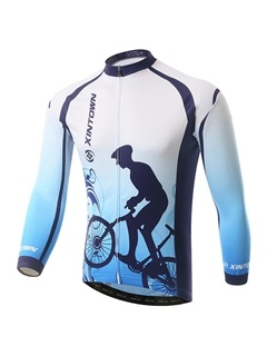 Graphic Long-Sleeve Cycling Jersey And Pant
