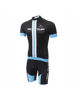 Multi-Color Polyester Cycle Jersey And Shorts