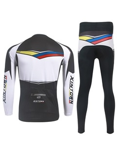 Slim-Fit Front-Zip Men's Cycle Outfit