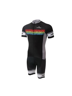 Full-Zip Cycling Jersey And Bib Shorts