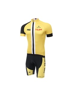 Multi-Color Basic Cycling Jersey And Shorts