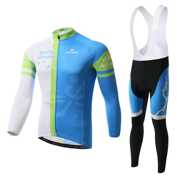 Multi-Color Polyester Cycle Jersey And Bib Tights