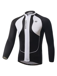 Professional Long-Sleeve Cycle Jersey And Bib Tights