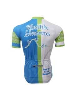 Contrasting Color Men's Cycling Jersey