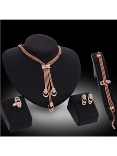 Vintage Style Alloy Women Jewelry Set