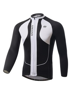 Winter Polyester Long-Sleeve Cycle Jersey