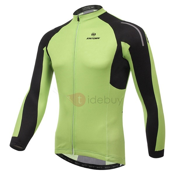 Polyester Green Men's Fast Drying Jersey