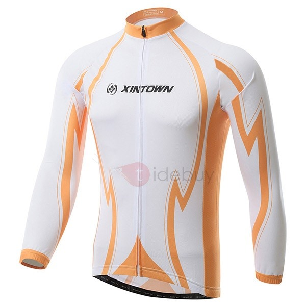 Polyester Long-Sleeve Bike Jersey