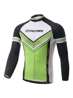 Multi-Color Polyester Cycle Jersey