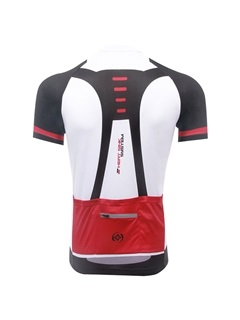 Polyester Short-Sleeve Basic Cycle Jersey