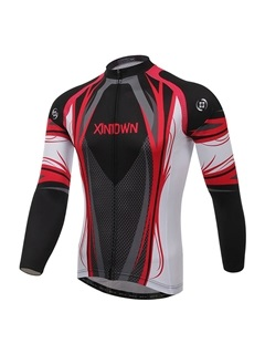 Winter Fleece Long-Sleeve Bike Jersey
