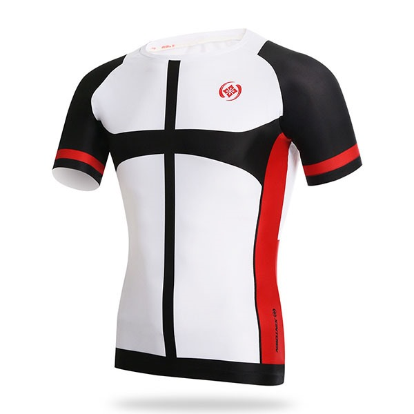 Polyester Crew-Neck Men's Cycle Jersey