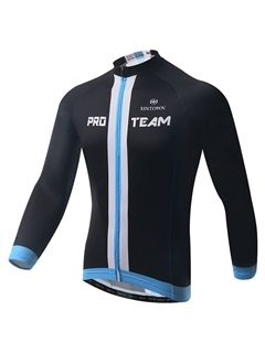 Solid Black Moisture-Wicking Men's Jersey