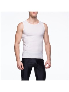 Solid Color Sleeveless Men's Running Tank