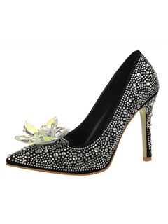 Crystal Rhinestone Stiletto Heel Wedding Shoes