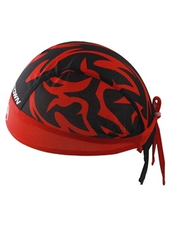 Polyester Mesh Fabric Unisex Cycle Cap