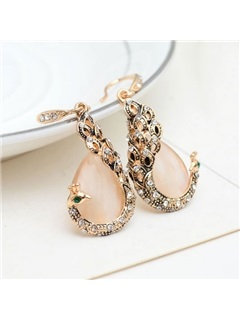 Hot Sale with Rhinestones Women Jewelry Set ( Including Necklace and Earrings )