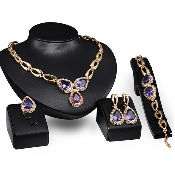 Chic Alloy Hollow Women Jewelry Set