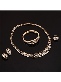 Hot Sale Chic Hollow Women Jewelry Set