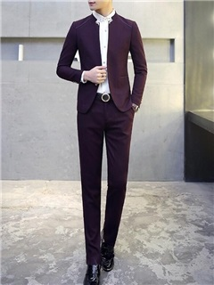 Single-breasted Men's Casual Suits