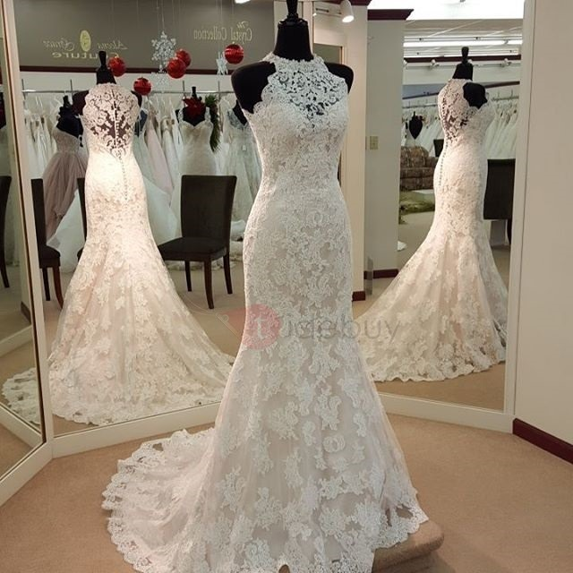 Lace Mermaid & Trumpet Wedding Dresses Cheap Online : Tidebuy.com