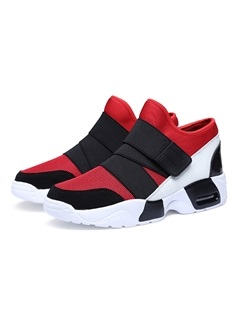 Breathable Mesh Velcro Running Shoes