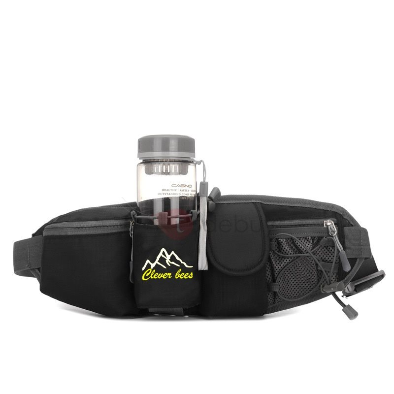 Cycling Bottom Pocket Position Zipper Waist Bag