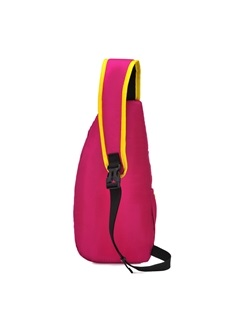 Plain Concise Zipper Outdoor Chest Bag