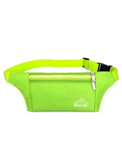 Ultrathin Exercise Phone Pocket Zippers Waist Bag