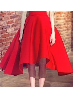 Amazing Sweetheart A-Line Lace-Up Asymmetrical Prom Dress