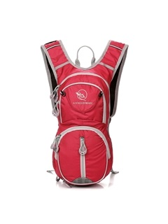 Knead Back Design with Helmet Pocket Cycling Backpack