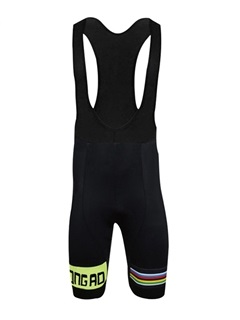 Polyester Men's Cycle Jersey And Bib Shorts