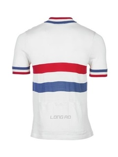 Colored Stripe Breathable Men's Bike Jersey