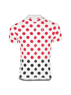 Polyester Allover Printed Men's Bike Jersey