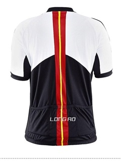 Polyester Short-Sleeve Cycle Jersey For Men