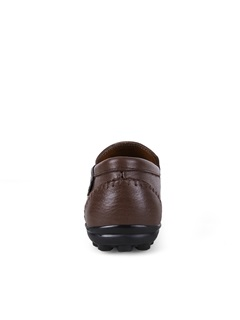 British Solid Color PU Men's Casual Shoes